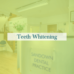 Teeth Whitening Menu